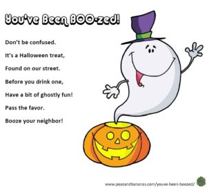 Halloween Booze Poem - You've Been Boozed!